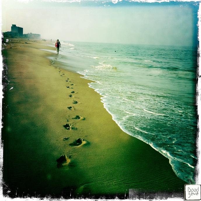 seule-sur-la-plage